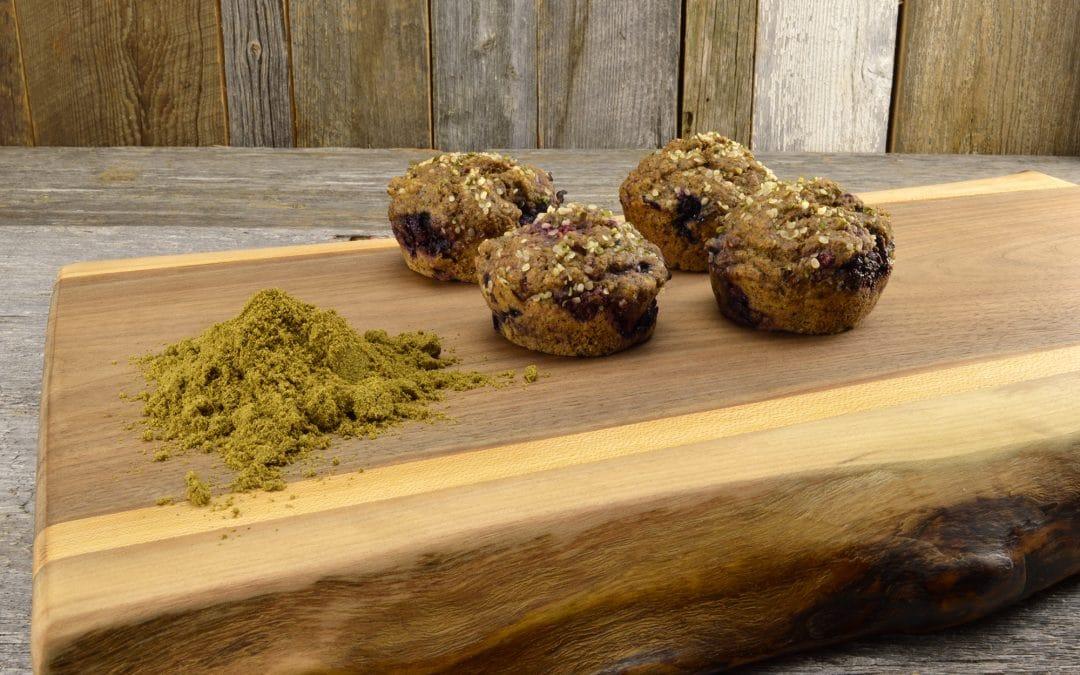 Délicieux muffins au chanvre